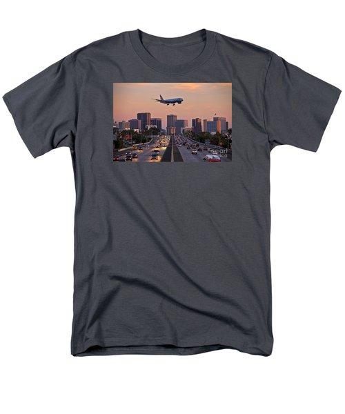 San Diego Rush Hour  Men's T-Shirt  (Regular Fit) by Sam Antonio Photography