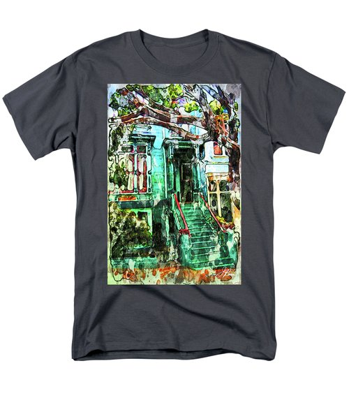 San Francisco Victorian Men's T-Shirt  (Regular Fit) by Joan Reese