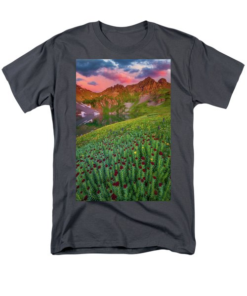 Men's T-Shirt  (Regular Fit) featuring the photograph San Juan Sunrise by Darren White