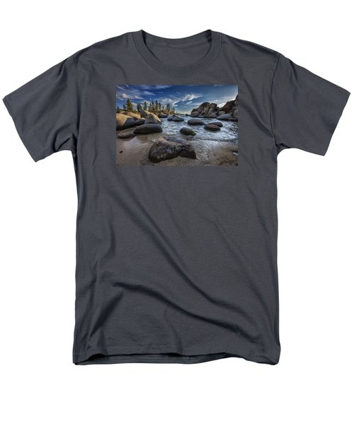 Sand Harbor II Men's T-Shirt  (Regular Fit) by Rick Berk
