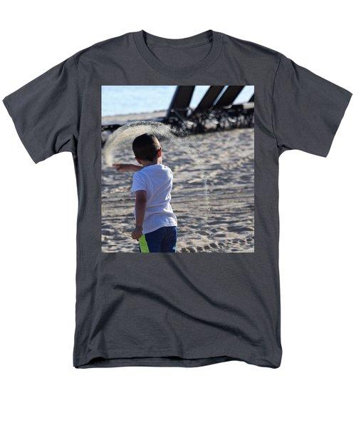 Sand Rainbow Men's T-Shirt  (Regular Fit) by John Glass