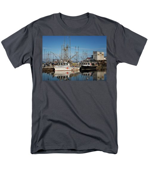 Men's T-Shirt  (Regular Fit) featuring the photograph Sandra M And Lasqueti Dawn by Randy Hall
