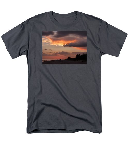 Sanibel At Dusk Men's T-Shirt  (Regular Fit) by Melinda Saminski