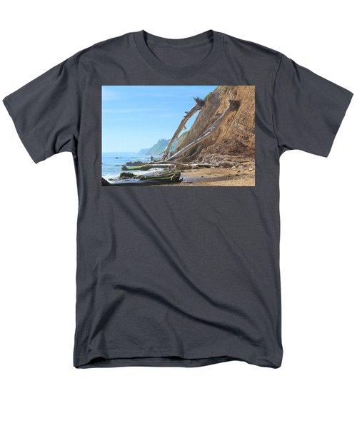 Santa Barbara Coast Men's T-Shirt  (Regular Fit) by Viktor Savchenko