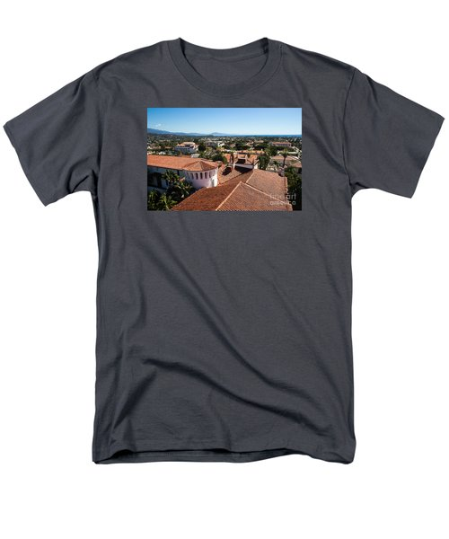 Santa Barbara From Above Men's T-Shirt  (Regular Fit) by Suzanne Luft