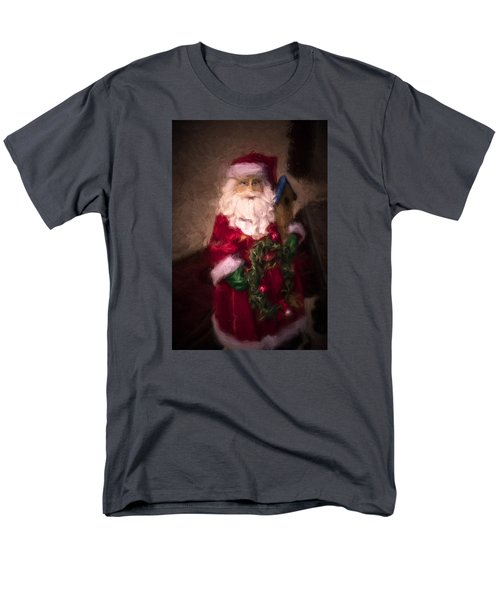 Santa Claus Men's T-Shirt  (Regular Fit) by Cathy Jourdan