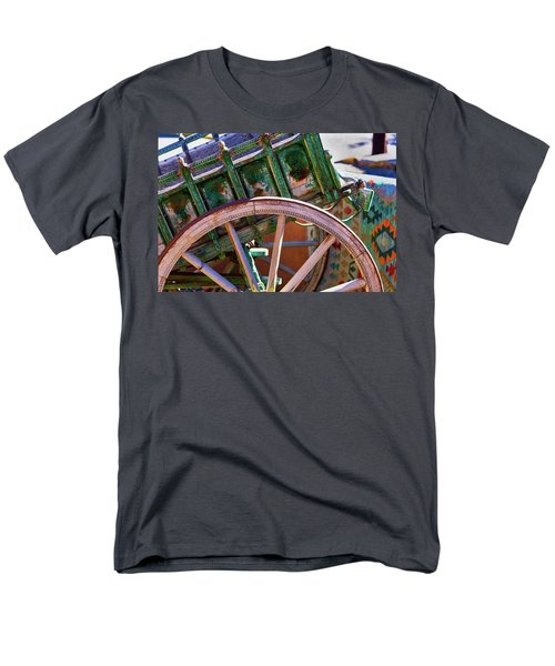 Men's T-Shirt  (Regular Fit) featuring the photograph Santa Fe Spokes by Stephen Anderson