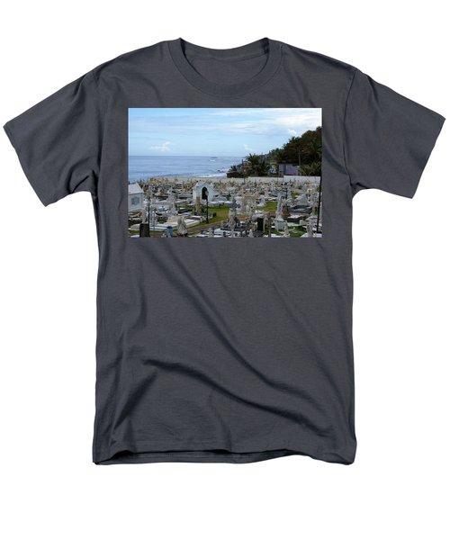 Santa Maria Magdalena De Pazzis Cemetery, Old San Juan Men's T-Shirt  (Regular Fit)