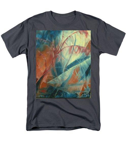 Men's T-Shirt  (Regular Fit) featuring the painting Savannah by Renate Nadi Wesley