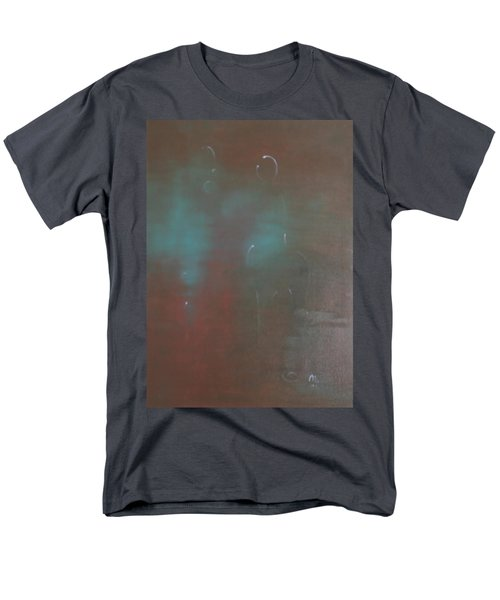 Men's T-Shirt  (Regular Fit) featuring the painting Say Nothing At All by Min Zou