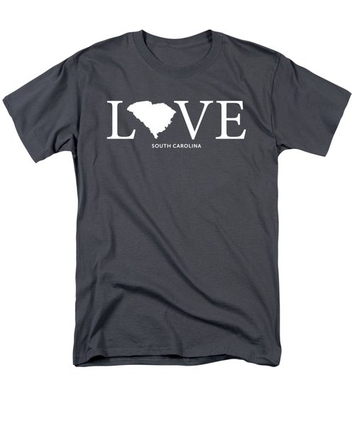 Sc Love Men's T-Shirt  (Regular Fit) by Nancy Ingersoll