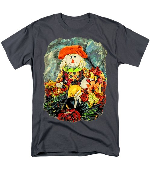 Scarecrow T-shirt Men's T-Shirt  (Regular Fit) by Kathy Kelly