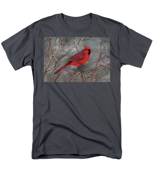 Scarlet Sentinel Men's T-Shirt  (Regular Fit)