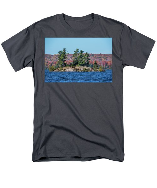 Men's T-Shirt  (Regular Fit) featuring the photograph Scenic Fall View by Paul Freidlund