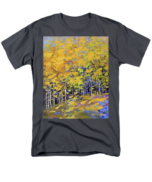 Scented Woods Men's T-Shirt  (Regular Fit) by Tatiana Iliina