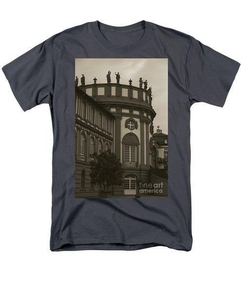 Schlosspark Biebrich Men's T-Shirt  (Regular Fit) by Jim and Emily Bush