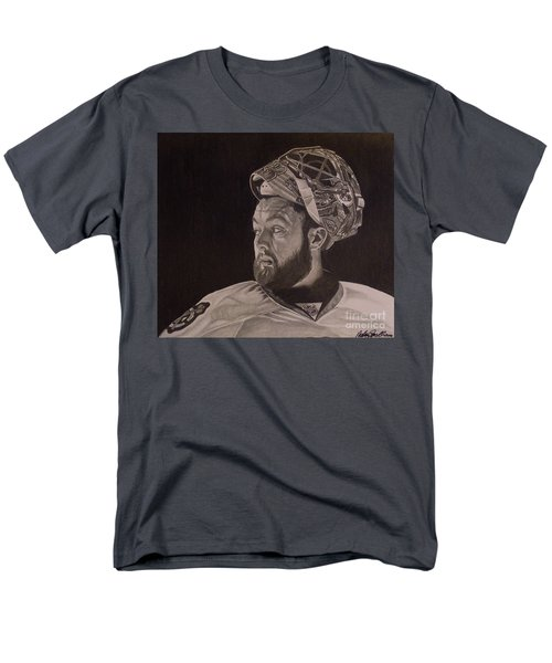 Men's T-Shirt  (Regular Fit) featuring the drawing Scott Darling Portrait by Melissa Goodrich