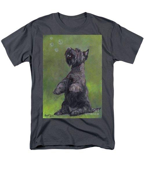 Scottie Likes Bubbles Men's T-Shirt  (Regular Fit)