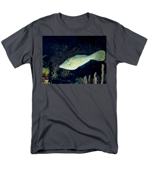 Men's T-Shirt  (Regular Fit) featuring the photograph Scrawled Filefish by Jean Noren