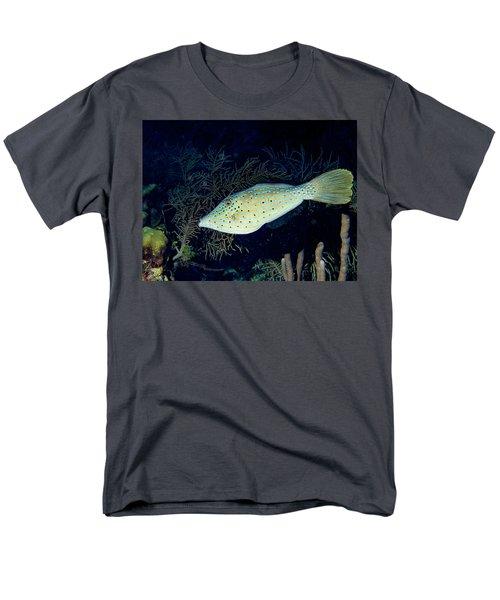 Scrawled Filefish Men's T-Shirt  (Regular Fit) by Jean Noren