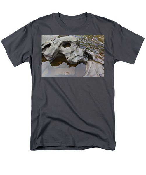 Men's T-Shirt  (Regular Fit) featuring the photograph Sculpted Rock by Peter J Sucy
