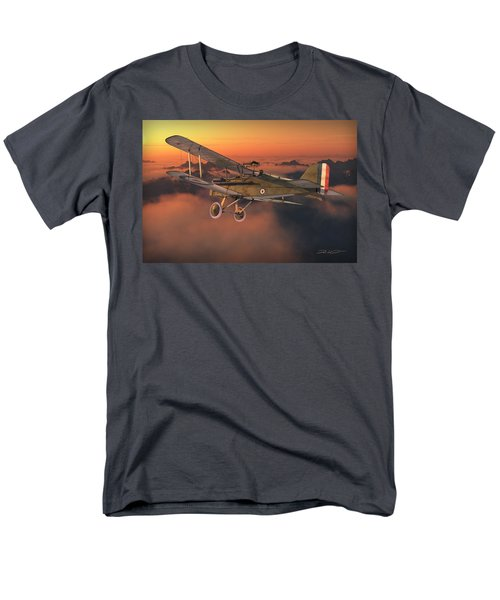 S.e. 5a On A Sunrise Morning Men's T-Shirt  (Regular Fit) by David Collins