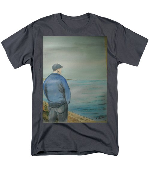 Sea Gaze Men's T-Shirt  (Regular Fit) by Anthony Ross