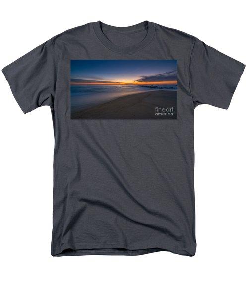 Sea Girt Sunrise New Jersey  Men's T-Shirt  (Regular Fit) by Michael Ver Sprill