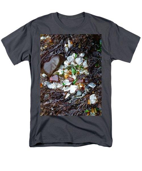 Sea Glass Nest Men's T-Shirt  (Regular Fit) by Amelia Racca