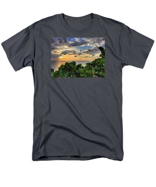Sea Grape Sunrise Men's T-Shirt  (Regular Fit)
