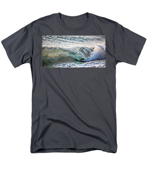 Sea Turtles In The Waves Men's T-Shirt  (Regular Fit) by Barbara Chichester