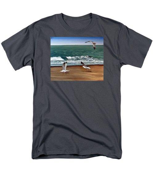 Seagulls 2 Men's T-Shirt  (Regular Fit)