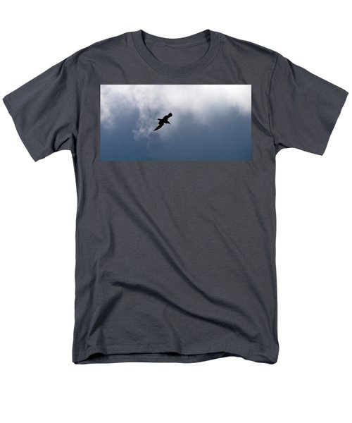 Men's T-Shirt  (Regular Fit) featuring the photograph Seagull's Sky 1 by Jouko Lehto