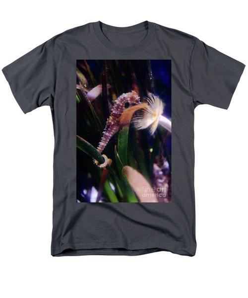 Seahorse Men's T-Shirt  (Regular Fit) by Ana Mireles