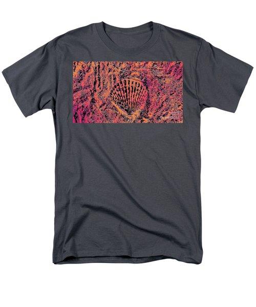 Seashell Delight Men's T-Shirt  (Regular Fit) by Rachel Hannah