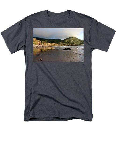 Seaside Reflections - County Kerry - Ireland Men's T-Shirt  (Regular Fit)
