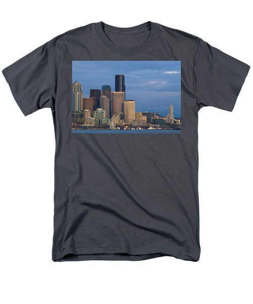 Men's T-Shirt  (Regular Fit) featuring the photograph Seattle by Evgeny Vasenev