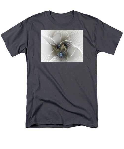 Men's T-Shirt  (Regular Fit) featuring the digital art Secret Chambers by Karin Kuhlmann