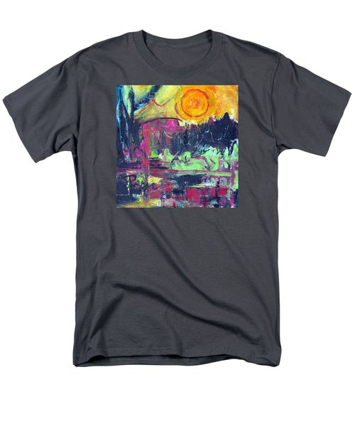 Men's T-Shirt  (Regular Fit) featuring the painting Secret Garden by Betty Pieper
