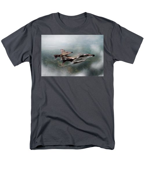Men's T-Shirt  (Regular Fit) featuring the digital art Seek And Attack by Peter Chilelli