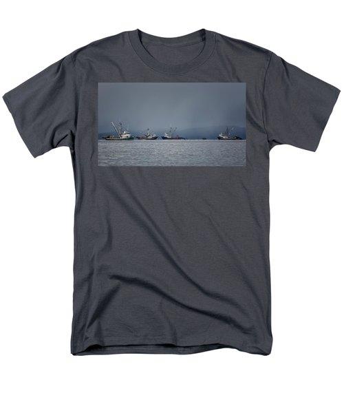 Seiners Off Mistaken Island Men's T-Shirt  (Regular Fit) by Randy Hall