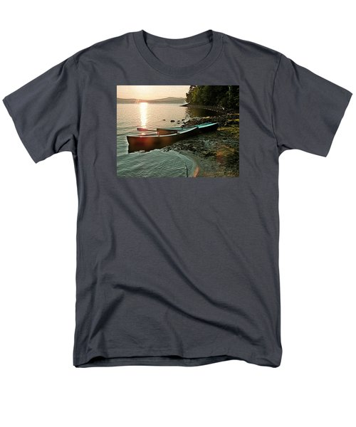 September Sunrise On Flagstaff Men's T-Shirt  (Regular Fit) by Joy Nichols
