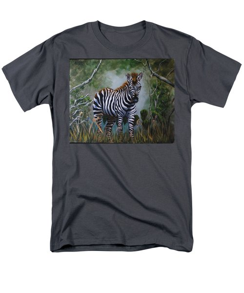 Serengeti Zebra Men's T-Shirt  (Regular Fit)