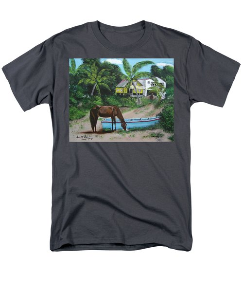 Serenity Men's T-Shirt  (Regular Fit) by Luis F Rodriguez