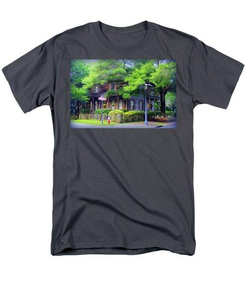 Seville Wooden House Men's T-Shirt  (Regular Fit) by Faith Williams