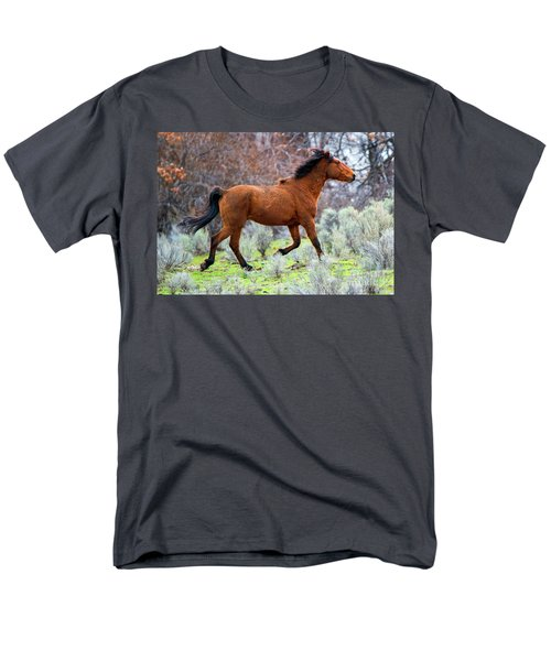 Men's T-Shirt  (Regular Fit) featuring the photograph Shaggy And Proud by Mike Dawson
