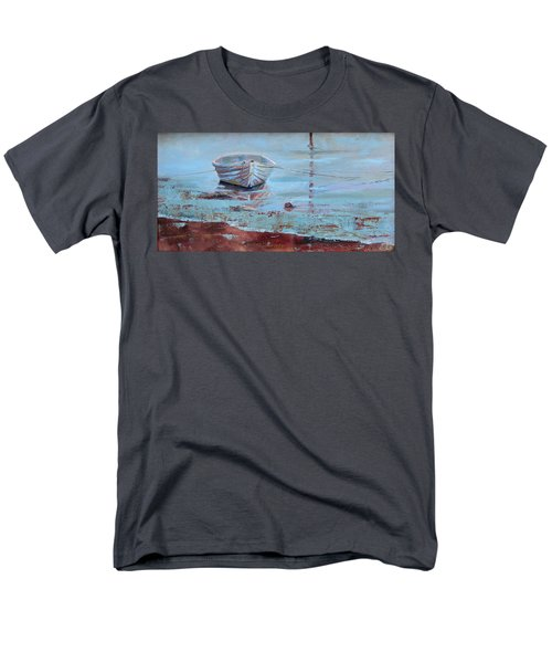 Shallow Tether Men's T-Shirt  (Regular Fit) by Trina Teele