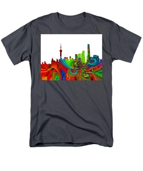Shanghai  Men's T-Shirt  (Regular Fit) by Thomas M Pikolin