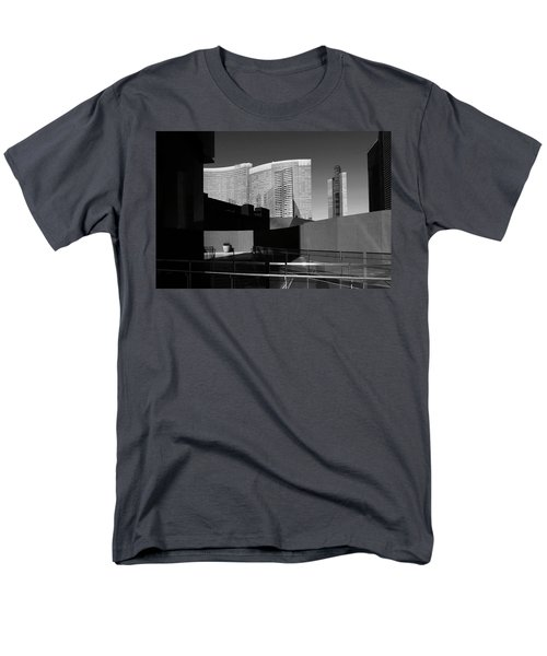 Men's T-Shirt  (Regular Fit) featuring the photograph Shapes And Shadows 3720 by Ricardo J Ruiz de Porras