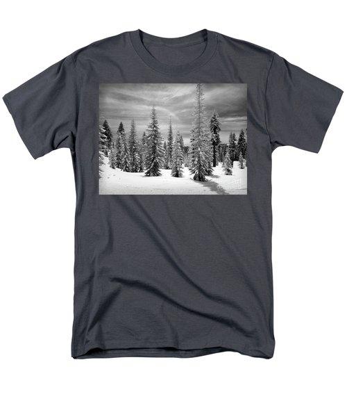 Shasta Snowtrees Men's T-Shirt  (Regular Fit) by Martin Konopacki